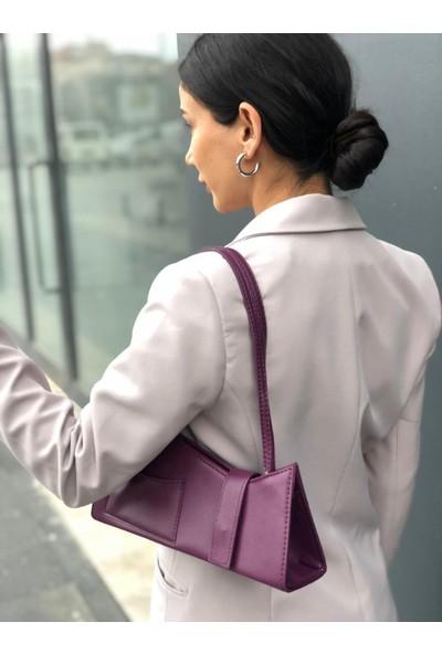 İnci_A.V.M Kadın Cepli Kalıp Baget Çanta