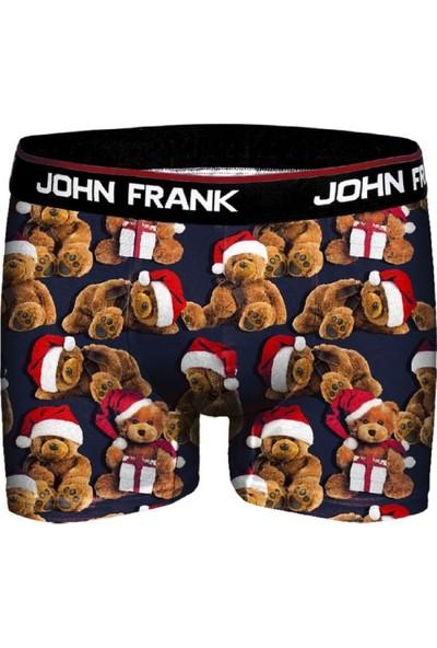 John Frank Erkek Baskılı Boxer JFBD08-CH