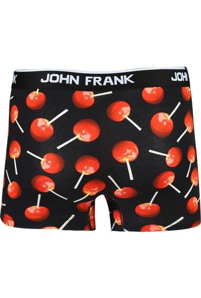 John Frank Erkek Baskılı Boxer JFBD296