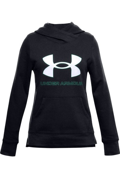 Under Armour 1356431 Rival Fleece Logo Hoodie Kadın Sweat