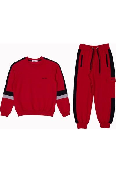 Pierre Cardin Bebek Giyim Pierre Cardin Erkek Çocuk Takımı Kırmızı