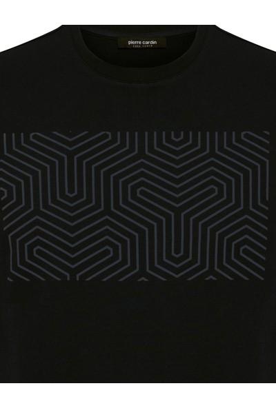 Pierre Cardin Siyah Standart Fit Sweatshirt 50235440-VR046