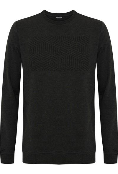 Pierre Cardin Antrasit Melanj Standart Fit Sweatshirt 50235440-VR081