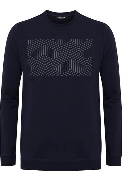 Pierre Cardin Lacivert Standart Fit Sweatshirt 50235440-VR033