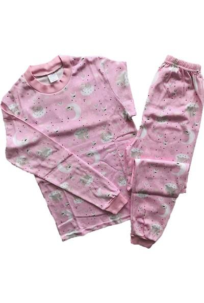 Seçkin Baby Ay Desenli Çocuk Pijama Takım %100 Pamuk