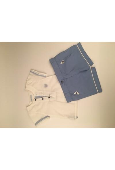 Babydoll 2li Takım Mavi