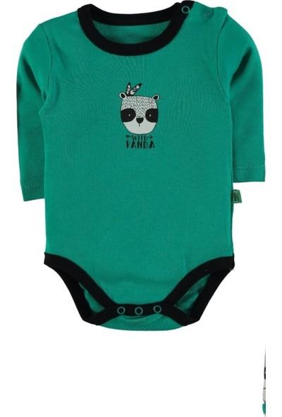 Baby Cool 3lü Takım Wild Panda Yeşil