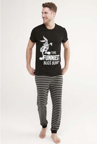 Penti Çok Renkli Lic Bugs Bunny Ss Pantolon Takımı