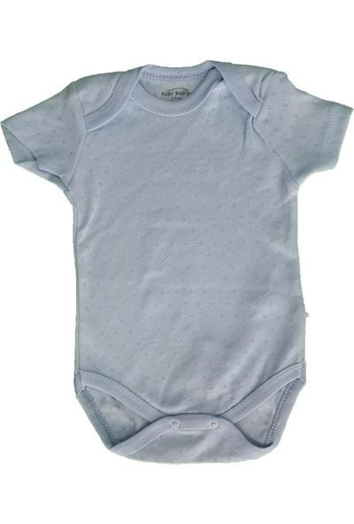 Fuar Kısa Kol Erkek Bebek Badi - Zıbın