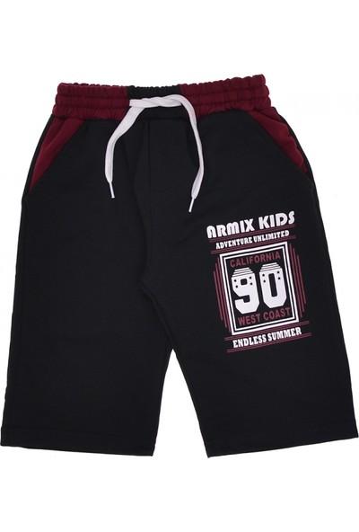 Armix Kids Erkek Çocuk Baskılı Şort 5-8 Yaş