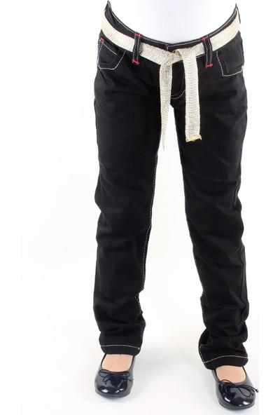 Bani Kids Kız Beli Içten Ayarlamalı Siyah Kot Pantolon BNK-92099