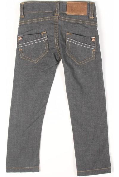 Bani Kids Kız Gri Geniş Paça Pantolon BNS-9137
