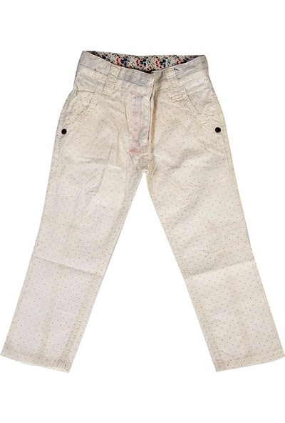 Bani Kids Krem Kız Çocuk Pantolon