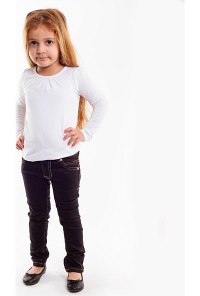 Bani Kids Siyah Içten Beli Ayarlanabilir Kot Pantolon