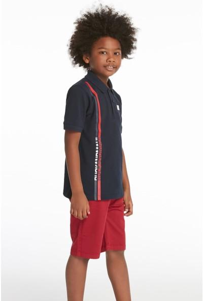 Ruck & MaulErkek Çocuk Polo Yaka T-Shirt T-Adcj0102451