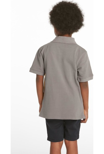 Ruck & MaulErkek Çocuk Polo Yaka T-Shirt T-Adcj0102542