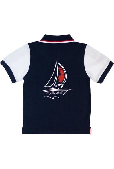 Ruck & MaulErkek Çocuk Polo Yaka T-Shirt T-Adcj0102544