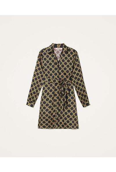 Twin Set-Kadın-Woven Dress-202Tt2210