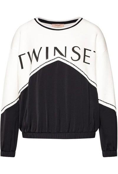 Twin Set-Kadın-Knıtted Sweatshırt-202Tt2T20