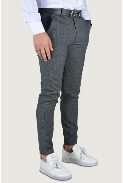 Terapi Men Erkek Keten Pantolon 9Y-2200196-008 Indigo