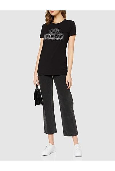 Love Moschıno Kadın T-Shirt