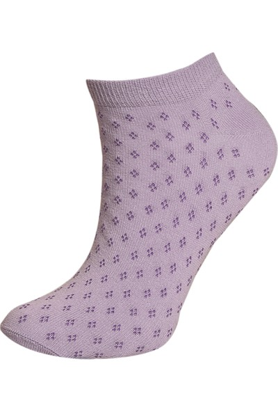 Brave Socks Çok Renkli 4'lü Paket Kadın Soket Patik Çorap