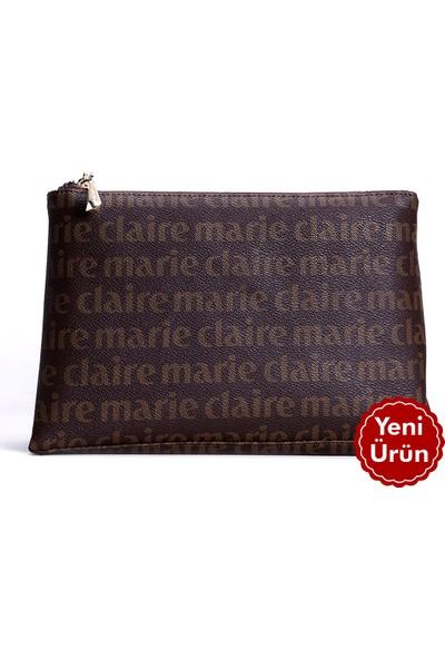 Marie Claire Kahve Kadın Makyaj Çantası Monica MC212111237