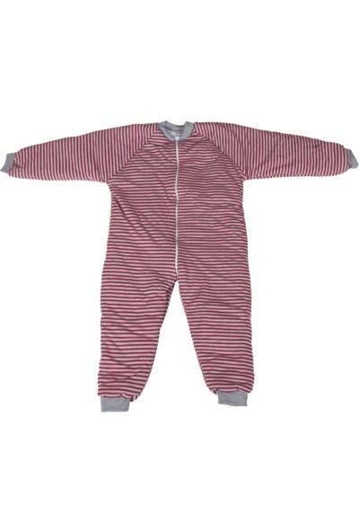Özlem Bebe Kırmızı Çizgi Uyku Tulumu