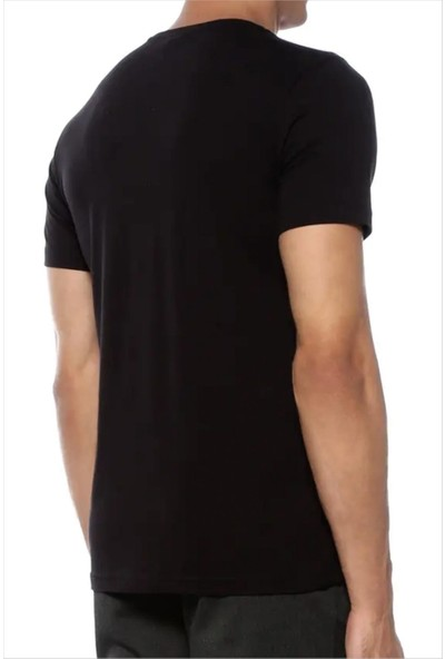 Ayyıldız Erkek Siyah Tshirt 59520