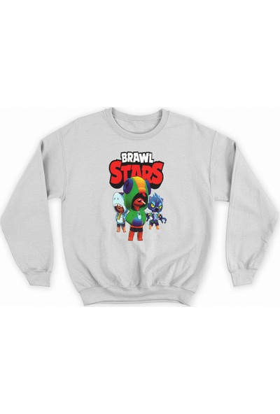 Brawl Stars Baskılı Sweat