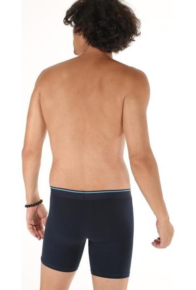 Donkshot 6 Adet Uzun Likralı Erkek Boxer 1004