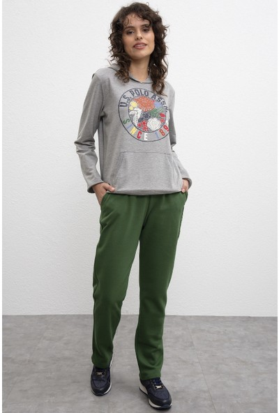 U.S. Polo Assn. Yeşil Örme Pantolon 50232121-Vr054