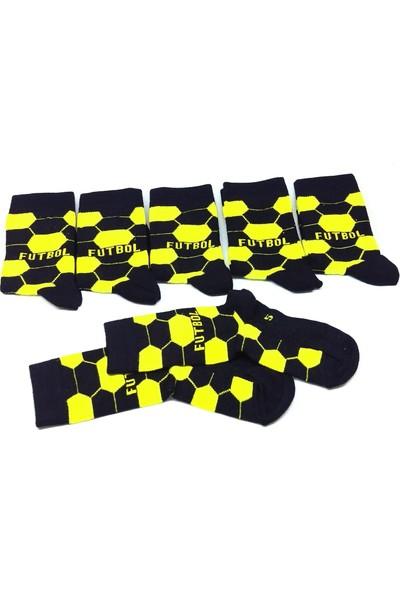 Sayıl Fenerbahçe 6 Lı Çocuk Çorabı
