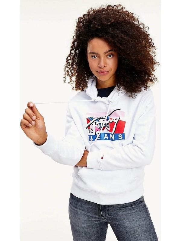 Tommy Hılfıger DW0DW08984.YBR Kadın Sweatshirt