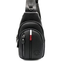 Polo W Club Siyah Erkek Bady Bag Çapraz ve Omuz Çantası 6227006