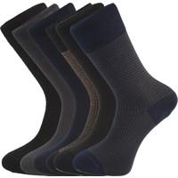 Esgue 6'lı Premium Bambu & Merserize Çorap