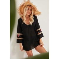 C&city Kadın Pareo Plaj Elbisesi 2012 Siyah