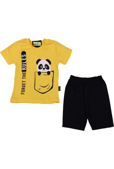 Moyes Bebek Panda Erkek Çocuk 2 Parça Şortlu Takım 109780