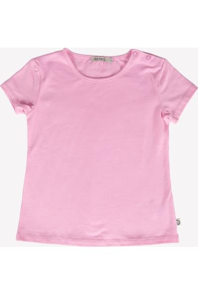 Ozmoz Kız Çocuk Pembe Yazlık Short T-Shirt Takım