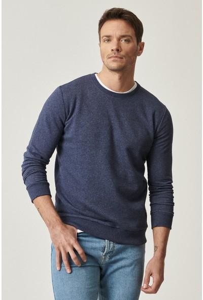 Altınyıldız Classics Slim Fit Günlük Rahat Sıfır Yaka Spor Sweatshirt