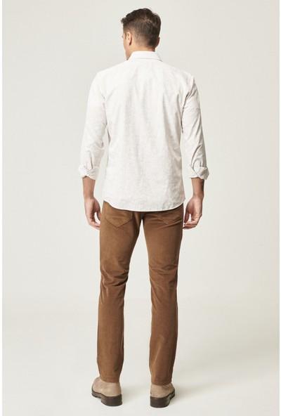 Altınyıldız Classics Slim Fit Dar Kesim 5 Cep Kadife Kışlık Pantolon