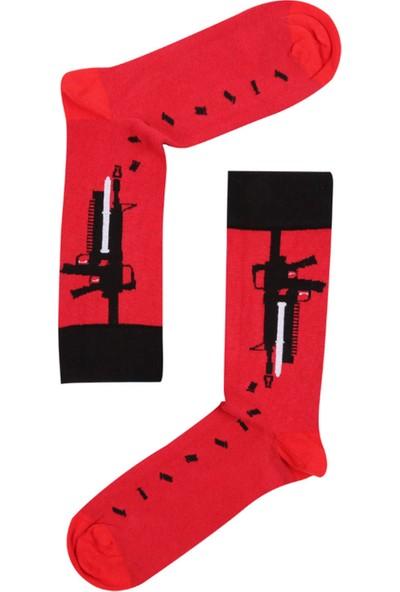 The Socks Company 3'lü Paket Desenli Erkek Çorap