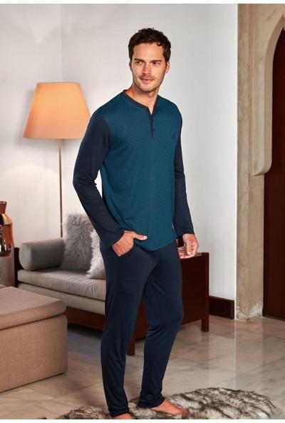 Nautica Sleepwear NTM018 Pijama Takım