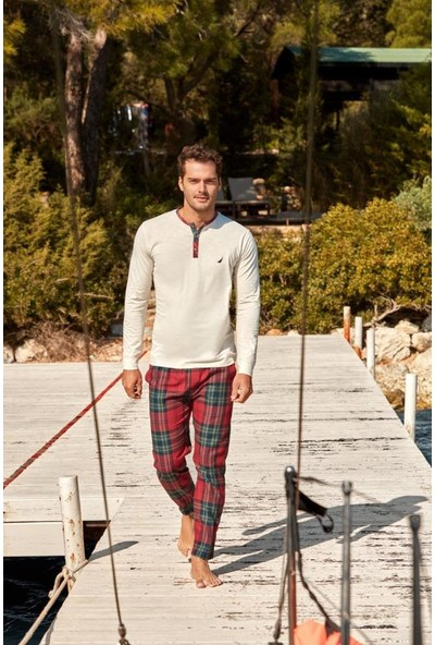 Nautica Sleepwear NTM010 Pijama Takım