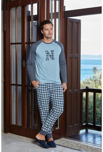 Nautica Sleepwear NTM30 Pijama Takım
