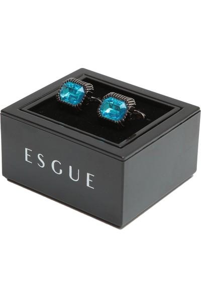 Esgue Kol Düğmesi & Kravat Iğnesi Hediye Seti
