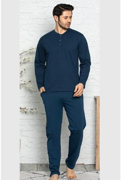 Işılay   Erkek Pijama Takımı Mevsimlik Uzun Kol