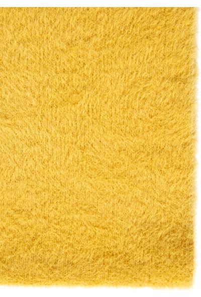 Mavi Kadın Sarı Tüylü Boyunluk 197902-32173