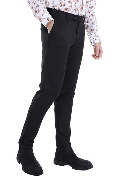 Diandor Kışlık Erkek Pantolon Siyah/black 2023004