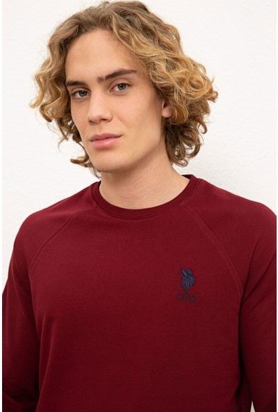 U.S. Polo Assn. Kırmızı Sweatshirt Basic 50225343-VR014